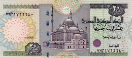 EGYPT 20 POUNDS 2008 P-65 UNC RARE DATE [ EG331e ] - Egypt