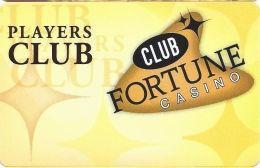 Club Fortune Casino Henderson, NV Slot Card  (BLANK) - Casino Cards
