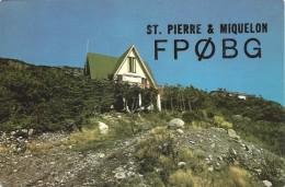 Amateur Radio QSL Card - FP0BG - St. Pierre & Miquelon - 1976 - Radio Amateur