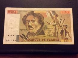 100 Francs 1985 - 1962-1997 ''Francs''