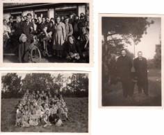 Photo Originale Allemagne - Zingst - 18374 - 3 Photos Prisent à Zingst En 1950 -  Mecklembourg-Poméranie-Occidentale - Lieux