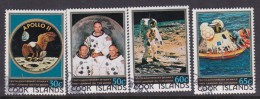 Cook Islands SG 653-56 1979 10th Anniversary Of Moon Landing Used - Cookeilanden