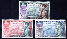 MONACO - YT N° 394 à 396 - Neufs ** - MNH - Cote: 6,40 € - Nuovi
