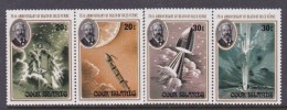Cook Islands SG 708-11 1980 75th Anniversary Of The Death Of Jules Verne MNH - Cook Islands