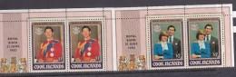 Cook Islands SG 838-41 1982 Royal Birth MNH - Cook