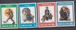 Cook Islands SG 848-851 1982 Norman Rockwell MNH - Cook Islands