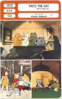 Fiche De Mr Cinéma FRITZ THE CAT - Réalisateur Ralph Bakshi - USA 1972 - Cinemania
