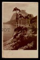 BRAZIL RIO DE JANEIRO HSDG SHIP MAIL REAL PHOTO RPPC Vintage Original Ca1900 POSTCARD CPA AK (W4_3042) - Rio De Janeiro