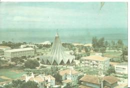 Maputo (Mozambico, Mocambique) Igreja De Santo Antonio Da Polana, Affrancatura Meccanica Rossa - Mozambico