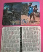 CALENDARIETTO 1986 SANTUARIO S.GIUSEPPE DA COPERTINO OSIMO - Formato Piccolo : 1981-90