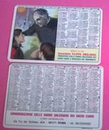 CALENDARIETTO 1987 SAC. FILIPPO SMALDONE - Formato Piccolo : 1981-90