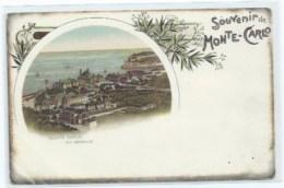 98 - MONACO MONTE CARLO - SOUVENIR DE MONTE CARLO EDITION BRIQUET - Monaco