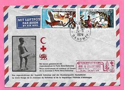 1630  ~~    REPUBLIQUE  DAHOMEY   ~  N° 337 / 38 - Bénin – Dahomey (1960-...)
