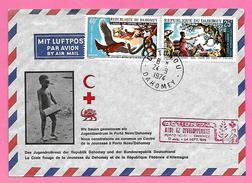 1632  ~~    REPUBLIQUE  DAHOMEY   ~  N° 337 / 38 - Bénin – Dahomey (1960-...)