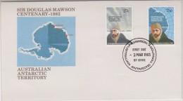 AZT 1983 Sir Douglas Mawson Centenary FDC Mawson (30877) - FDC