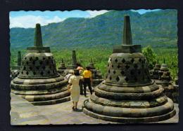 INDONESIA  -  Central Java  Borobudur Temple  Unused Postcard - Indonesia