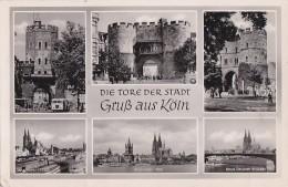 Allemagne - Gruss Aus Köln - Die Tore Der Stadt - Postmarked Militaria BP S 8  1952 - Koeln