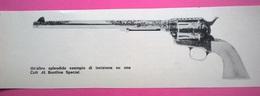 DIANA ARMI FOTO RITAGLIATA DA GIORNALE DEL 1968  COLT 45 BUNT LINE SPECIAL - Livres, BD, Revues