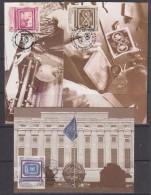 UNO New York/Geneva/Vienna 1991 40th Anniversary United Nations 3v 3 Maxicards (30882) - Gezamelijke Uitgaven New York/Genève/Wenen