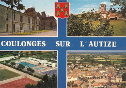 CPM Coulonges-sur-L´Autize - Vues Multiples - Coulonges-sur-l'Autize