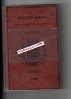 87 - LIMOGES - ASSOCIATION FRANCAISE POUR AVANCEMENT DES SCIENCES-19 E SESSION 1890- PORCELAINE- SAINT JUNIEN USINE - Sciences