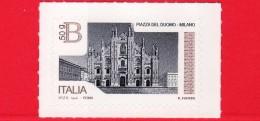 Nuovo - ITALIA - 2016 - Piazza Del Duomo In Milano- Tariffa B 50 G - Val. € 2.55 - 2011-...: Neufs