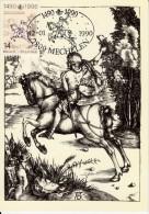 Carte Maximum Card 1990 Belgium Albrecht Durer  #19944 - Autres