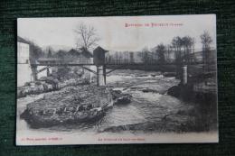 Environs De POUXEUX , La Moselle Au Saut Du Broc - Pouxeux Eloyes