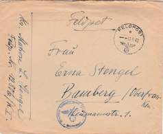 Feldpost WW2: From Beverloo In Belgium - Marine-Stan-Regiment Beverloo FP 12806/K I  P/m 19.6.1942 - Cover Only  (G85-21 - Militaria