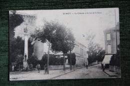EYMET - Le Château Et La Rue De La Gare - Other Municipalities