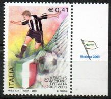 PIA - ITALIA - 2003 : Campionato Di Calcio. Scudetto Alla Juventus  - (SAS  2700) - 2001-10: Mint/hinged