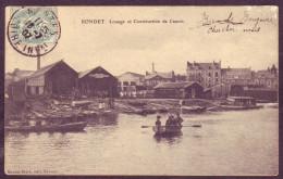 Nantes - Rondet - Louage Et Construction De Canots (2 Scans) - Nantes