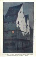 - Themes Divers -ref-M724- Illustrateurs - Illustrateur Hansi - Pignon Au Clair De Lune A Colmar - Haut Rhin - - Hansi