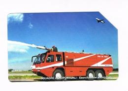 TELECOM ITALIA - CAT.C.& C  F4448 - VIGILI DEL FUOCO: SQUADRE AEROPORTUALI -     USATA (RIF. CP) - Pubbliche Speciali O Commemorative