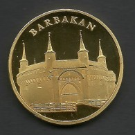 Poland, Souvenir Jeton, Krakow, Barbakan - Tokens & Medals