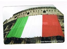 TELECOM ITALIA - CAT.C.& C  F4454 - VIGILI DEL FUOCO: FESTA NAZIONALE -     USATA (RIF. CP) - Pubbliche Speciali O Commemorative
