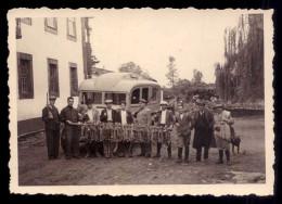 Fotografia Grupo De Caçadores Com Dezenas De Lebres - PORTO - Portugal (não é Postal) - Porto