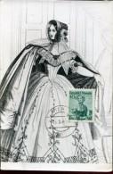 10768 Austria,  Maximum  Trachten  Folclore,  Costume  1958 Wien 40g - Maximumkarten (MC)