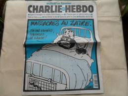 ANCIEN  CHARLIE HEBDO  N° 229 /  TIGNOUS  / NOV  1996 - Magazines Et Périodiques