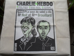 ANCIEN  CHARLIE HEBDO  N° 243 /  HONORE  / FEVR  1997 - Zeitschriften & Magazine