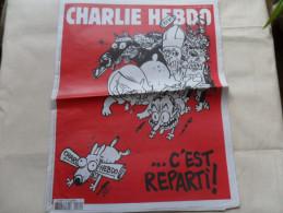 ANCIEN  CHARLIE HEBDO  N° 1179 /  LUZ  / FEVR  2015 - Zeitschriften & Magazine