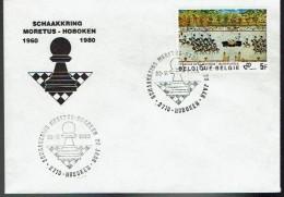 Schaken Schach Chess Ajedrez échecs - Belgie Hoboken 1980 - Echecs