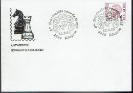 Schaken Schach Chess Ajedrez échecs - Belgie Edegem 1983 - Echecs