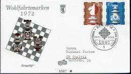 Schaken Schach Chess Ajedrez échecs - Duitsland Deutschland Berlin 1972 - Echecs