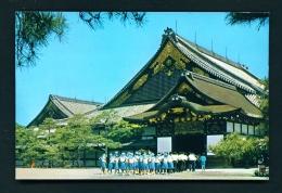 JAPAN  -  Nijo Castle  Unused Postcard - Kyoto