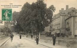 VILLEFRANCHE DE ROUERGUE PROMENADE GUIRAUDET - Villefranche De Rouergue