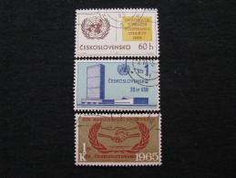 Tschechoslowakei   1548 - 1550 O - Gebraucht