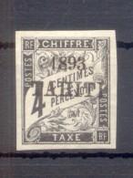TAHITI AN 1893 YVERT TIMBRE TAXE NR. 17 MH - Tahiti (1882-1915)