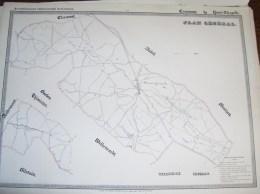HENRI CHAPELLE ( Commune De Welkenraedt ) Vers  1850 - Cartes