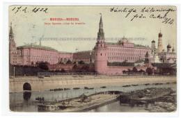 Moscou Russie Vue Du Kremlin 1902 (891) - Russia